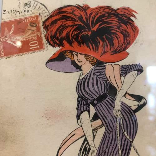 Carlos Bady French Illustrated Postcard image-4