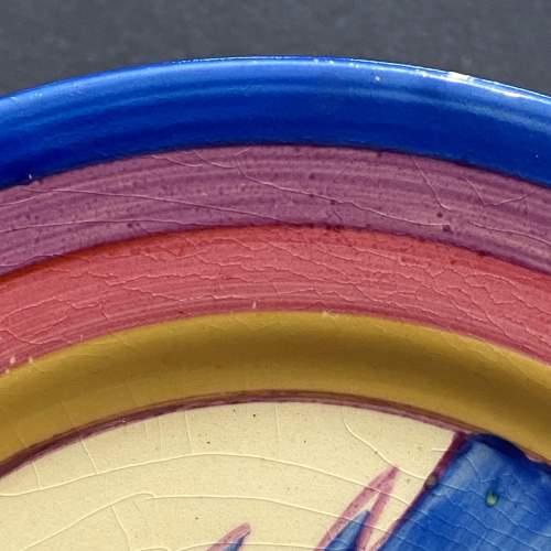 Clarice Cliff Bizarre Gibraltar Pattern Tea Plate image-3