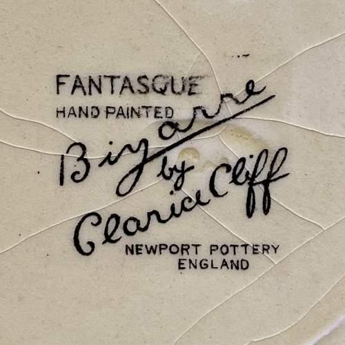 Clarice Cliff Bizarre Gibraltar Pattern Tea Plate image-4