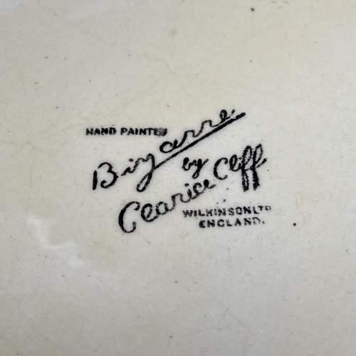 Clarice Cliff Bizarre Cafe Au Lait Lotus Jug image-6