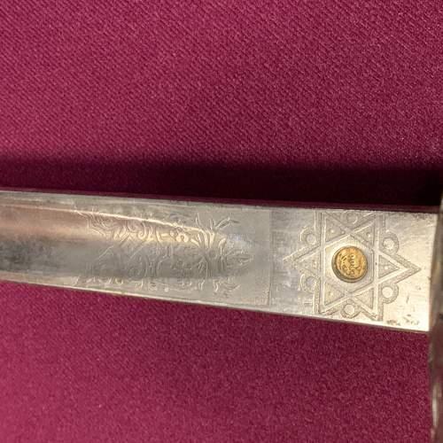 George VI British Officers Sword image-4