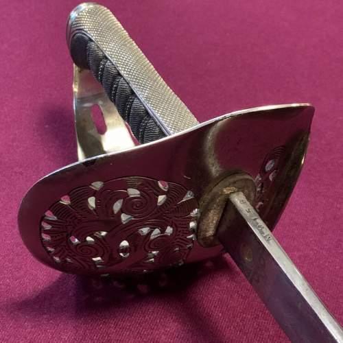George VI British Officers Sword image-5