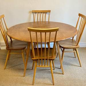 Ercol Five Piece Dining Table and Chairs