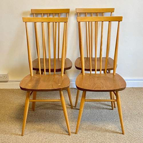 Ercol Five Piece Dining Table and Chairs image-4