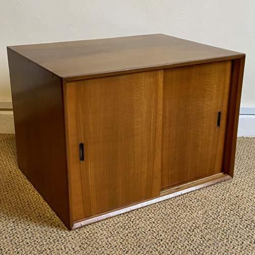 1950s Walnut Veneered L.P. Cabinet image-1