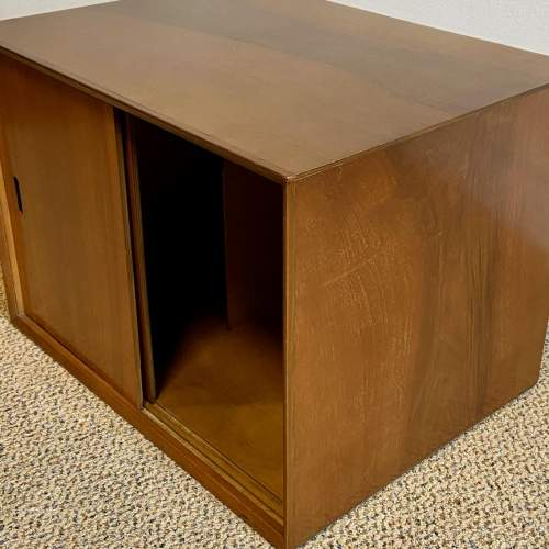 1950s Walnut Veneered L.P. Cabinet image-4