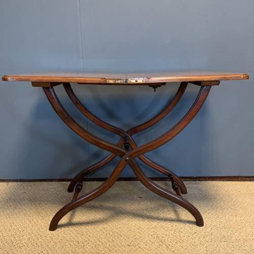 19th Century Mahogany Coaching Table image-1