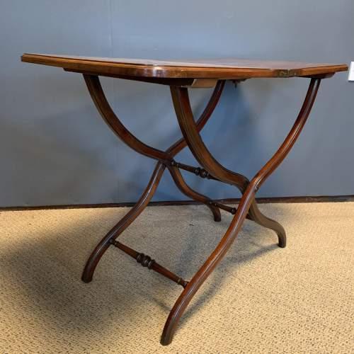 19th Century Mahogany Coaching Table image-2