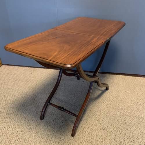 19th Century Mahogany Coaching Table image-3