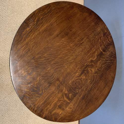 George III Oak Tilt Top Tripod Table image-5
