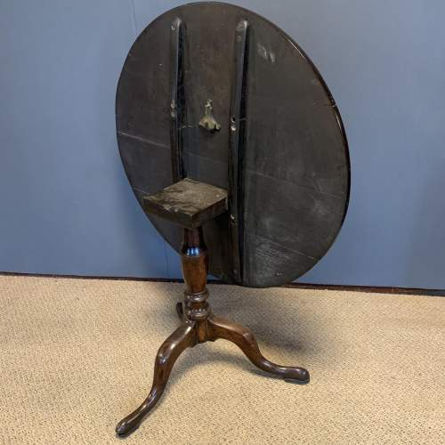 George III Oak Tilt Top Tripod Table image-4