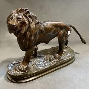 Heavy Quality Bronze Lion Statue
