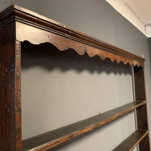 18th Century Oak Dresser with Rack image-4