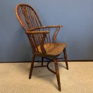 Rare Yew Wood Windsor Chair