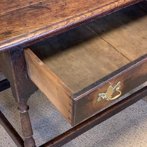 18th Century Oak Side Table image-3