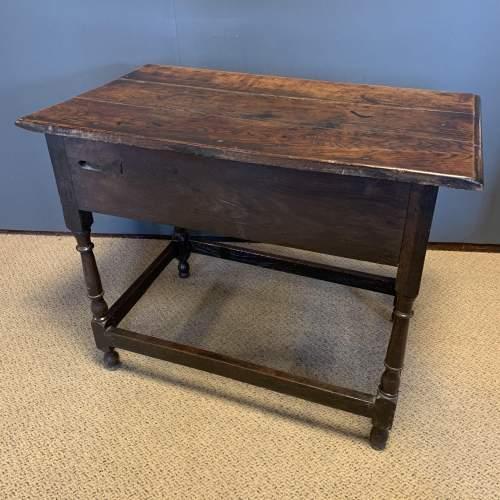 18th Century Oak Side Table image-4