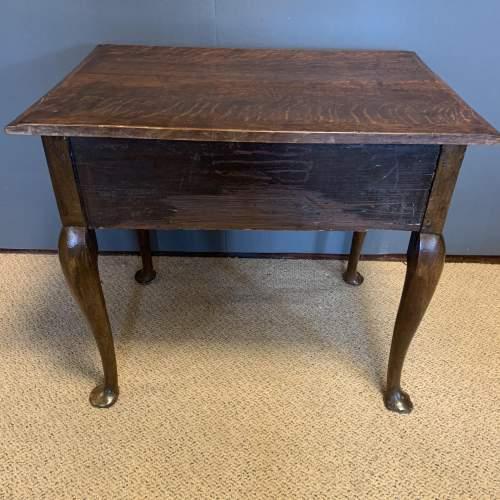 George II Oak Side Table image-5