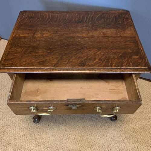 George II Oak Side Table image-3