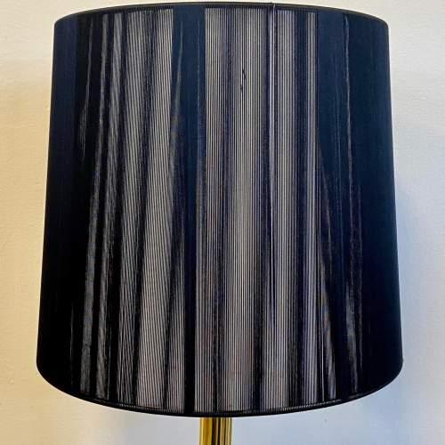 Heavy Brass Corinthian Column Table Lamp image-4