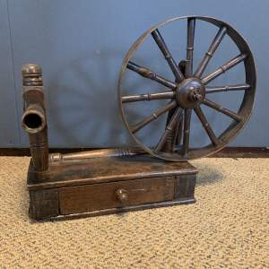 Antique Small Spinning Wheel