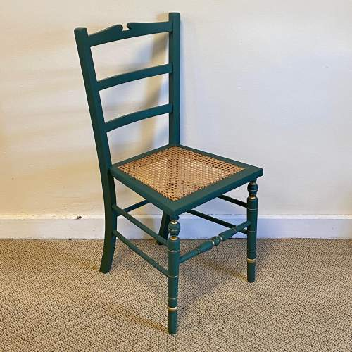 Edwardian Painted Chair image-1