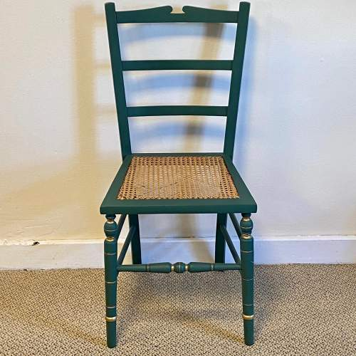 Edwardian Painted Chair image-2