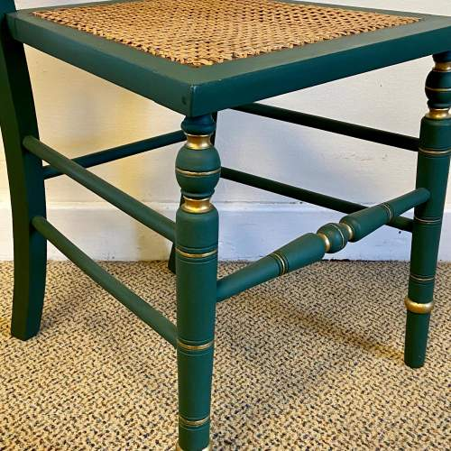 Edwardian Painted Chair image-3