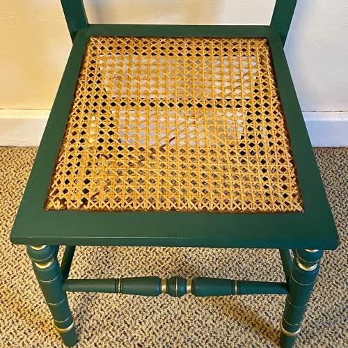 Edwardian Painted Chair image-4