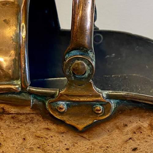 19th Century Copper Coal Helmet image-2