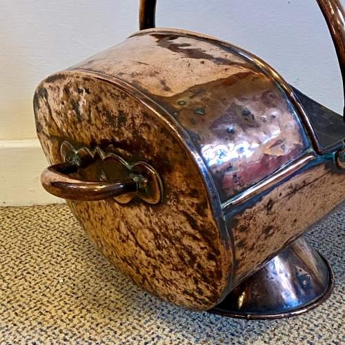 19th Century Copper Coal Helmet image-3