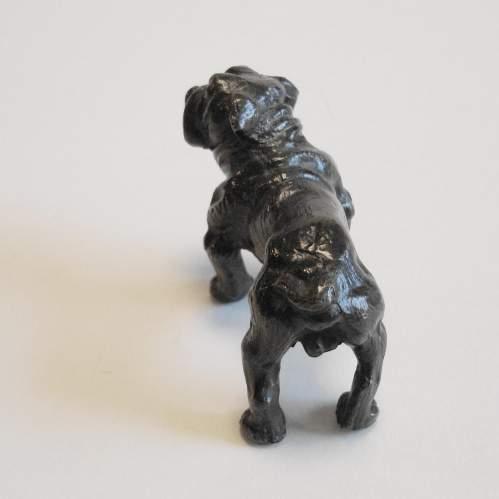 Victorian Cast Bronze Bull Dog image-2