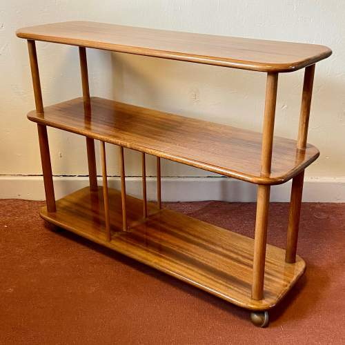 Vintage Ercol Trolley Bookcase image-1