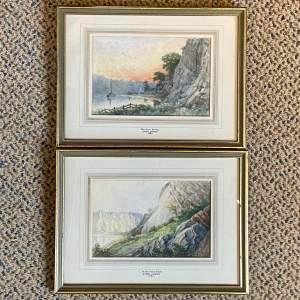 Late 19th Century Pair of Watercolours by John Jones