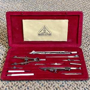 20th Century Technical Drawing Instrument Set