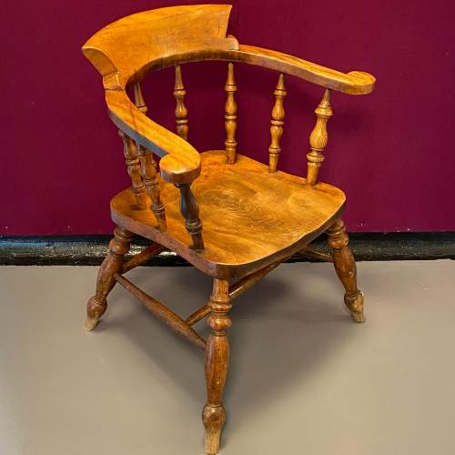 19th Century Captains Chair image-1