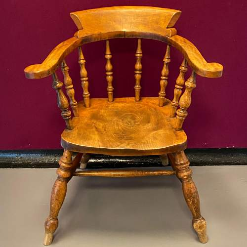 19th Century Captains Chair image-2
