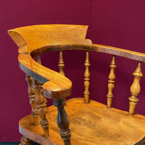 19th Century Captains Chair image-3