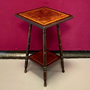 20th Century Inlaid Occasional Table