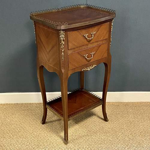Continental Two Drawer Centre Table image-1