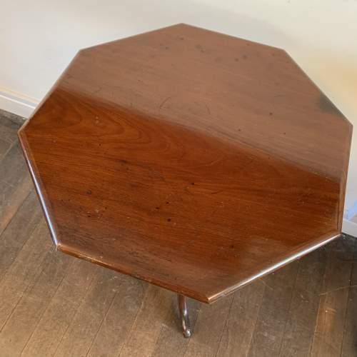 Victorian Hexagonal Mahogany Tripod Table image-2