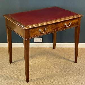 Late 19th Century Walnut Ladys Writing Desk