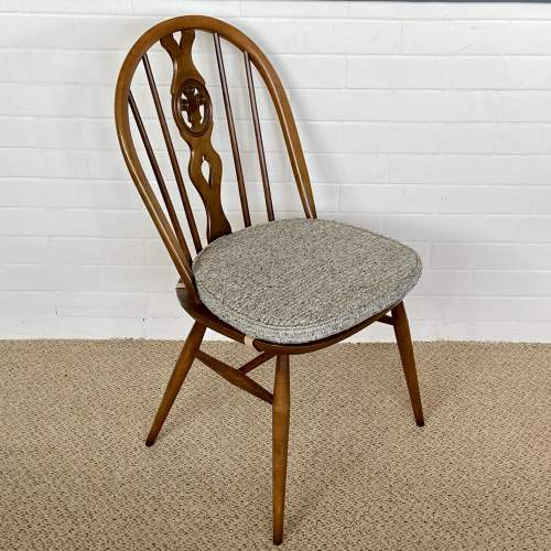 Set of Four Ercol Dining Chairs image-2