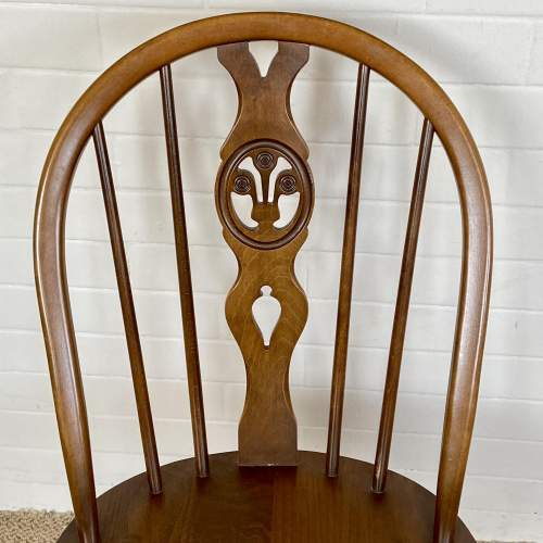 Set of Four Ercol Dining Chairs image-4