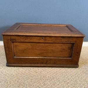Victorian Mahogany Deed box