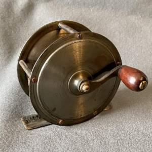 Late 19th Century Rare Crankwind Fly Reel