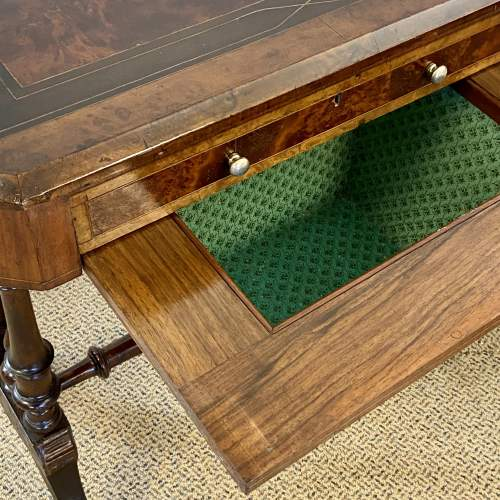 Late Victorian Inlaid Work or Sewing Table image-5
