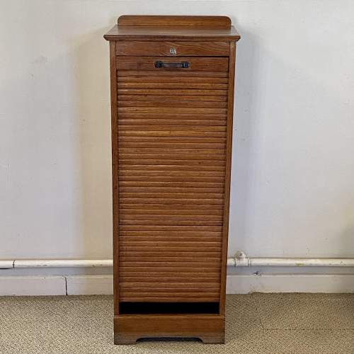 20th Century Tambour Front Filing Cabinet image-2