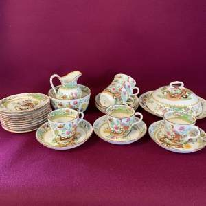 Early Spode Tea Set for TG Goode and Co