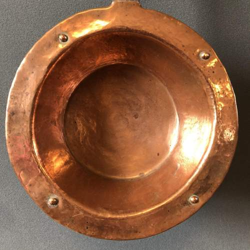 Iron Handled Copper Pan image-2