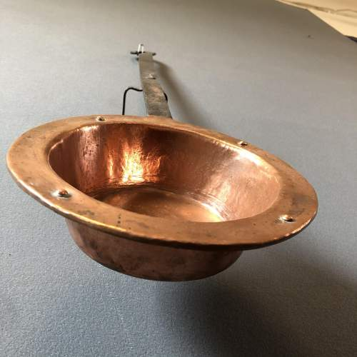 Iron Handled Copper Pan image-3
